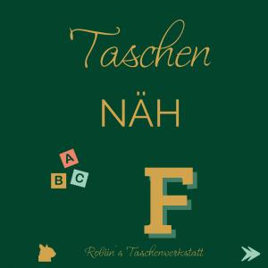 TaschenNÄH ABC - F